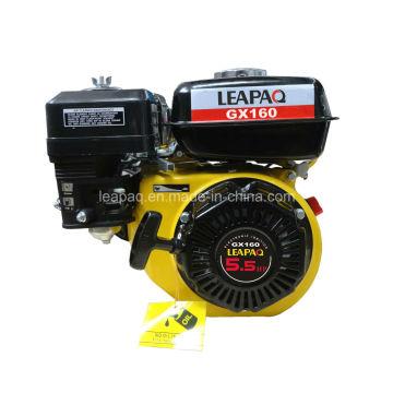 5.5HP Cylindres à 4 temps Cylindre simple Moteur à essence OHV