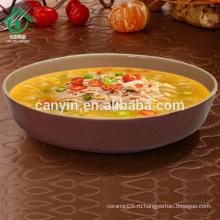 2015 Браун Керамическая посуда Чаша для супа