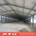 Entrepôt de structure métallique à faible coût adapté aux besoins du client avec l'installation facile