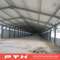2015 Pth Customized Design Low Cost Prefab Steel Structure Warehouse