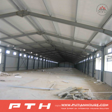 2015 Pth Customized Design Low Cost Estructura de acero prefabricada Warehouse
