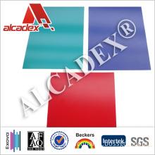 1500 X 3000 Construction Materials Exterior PVDF ACP Cladding