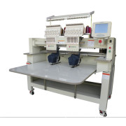 2 Head Hat Embroidery Machine for Cap T-Shirt Embroidery Machine