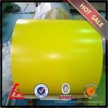JIS G3312 / ASTM A755 Prepainted Bobina de aço para o mercado da União Europeia sem imposto anti-dumping