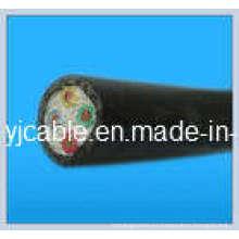 PE / XLPE 0.6 / 1kv Cable de alimentación