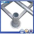 Estrutura de tubo de aço de rack de empilhador para armazenamento de armazém