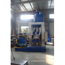 Small Professional Straw Hydraulic Briquette Machine 500ton For Agriculture