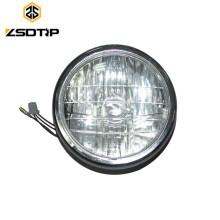 Voyants lumineux haute qualité Lampe frontale BOXER BM100 avec une ampoule Lampe frontale Crystal Glass