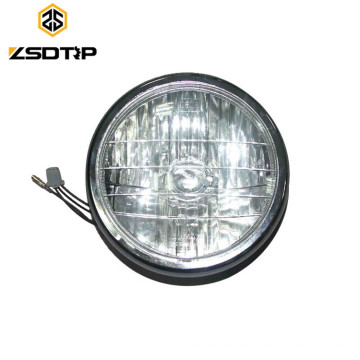 Luces indicadoras de alta calidad BOXER BM100 Luz de cabeza con una bombilla Linterna de cristal
