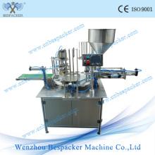 Machine de scellage de remplissage de boisson de type Rotary Type automatique