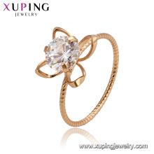 15476 xuping 18k позолоченный 2018 модный дизайн фанки дамы кольцо