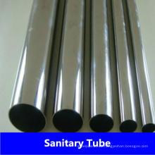 Geschweißtes Sanitärrohr aus Edelstahl 304L / 304 für die Lebensmittelindustrie