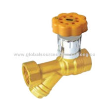 Magnetic Lock Filter Ball Valve with Hot-forged Brass Material