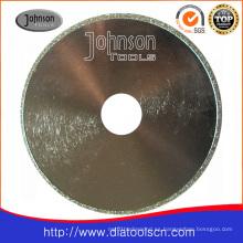 Od150mm Hoja de sierra circular galvanizada para corte de mármol