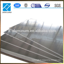 Mince feuille d'aluminium 5052 de 4 pieds x 8 pieds