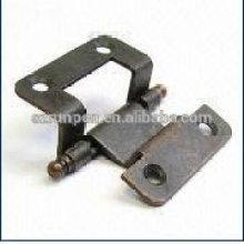 Charnière de porte en acier à poinçonner CNC