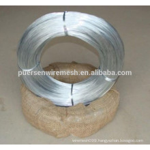 high tensile strength galvanized wire by Puersen,China