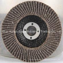 Óxido de aluminio calentado con disco de aleta de cubierta de fibra de vidrio