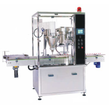 Automatic Bottle Powder Filling Machine with Capping Line Labeling Machinery