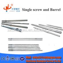 single extrusion screw barrel extruder screw barrel