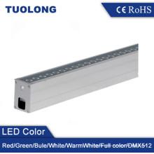 6063 Aluminio Extruido IP67 Longitud Personalizada Lineal LED Inground Luz 36W LED Uplighting