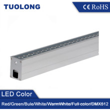 6063 Extruded Aluminum IP67 Customized Length Linear LED Inground Light 36W LED Uplighting