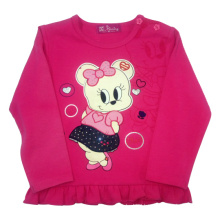 Miss Mouse Girl T-Shirt for Spring in Children′s Clothes