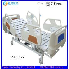 ISO / Ce Сертифицированная многофункциональная регулируемая больничная мебель Электрическая медицинская кровать