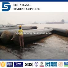 Coussin gonflable de levage d'air de bateau à haute pression de certificat de CCS