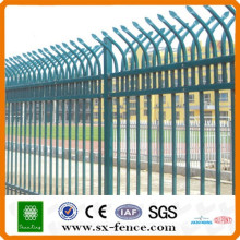 Powder coated Ornamental Iron Fence Panel