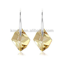 925 sterling sliver hook earrings large gemstone earring natural stone sliver jewelry