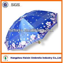 Vietnam Markt Satin Regenschirm zum Verkauf
