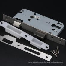 45/50/55/60 MM Backset 85 Cuerpo de cerradura de agujero central