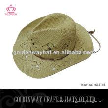 Chapeaux de cowboy en caoutchouc / cowboy en paille