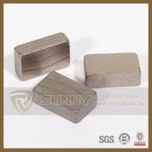 Segment de diamant en pierre pour les outils de coupe