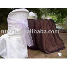 capas de cadeira, tampas da cadeira do poliéster, capas de cadeira de conferência, faixas