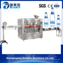 Equipamento de engarrafamento automático da água mineral do tamanho pequeno