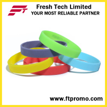 Hotsale Glow in scuro No Logo Wristband in silicone