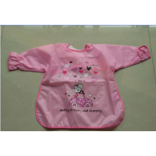 Resuable Cute Polyester Children Apron For Drawing