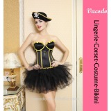 Vacodo dancing party corset lovely lace women costume