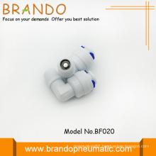 90 Degree Elbow Shape Pom Check Valves Adapter