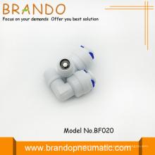 Forme Pom Check Valves adaptateur en coude 90 degrés