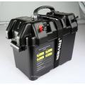 Preta caixa de bateria inteligente para automotivo, marinho, as baterias de RV