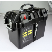 Black Smart Battery Box für Automotive, Marine, RV Batterien