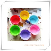 16 Cavity Oval Silikonform für Seife, Kuchen, Cupcake, Brownieand Mehr (HA36024)