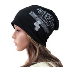 Mode gedruckt Baumwolle gestrickte Winter warme Ski Sport Hut (YKY3126)