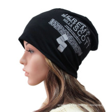Fashion Printed Cotton Knitted Winter Warm Ski Sports Hat (YKY3126)