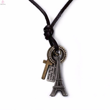 New Design Stainless Steel Eiffel Tower Charm Pendant Jewelry