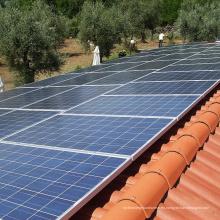 Instalación de panel solar Soporte de gancho Pendiente Sistema de montaje de azulejo de techo