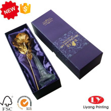 Flower perfume packaging cardboard box with lid